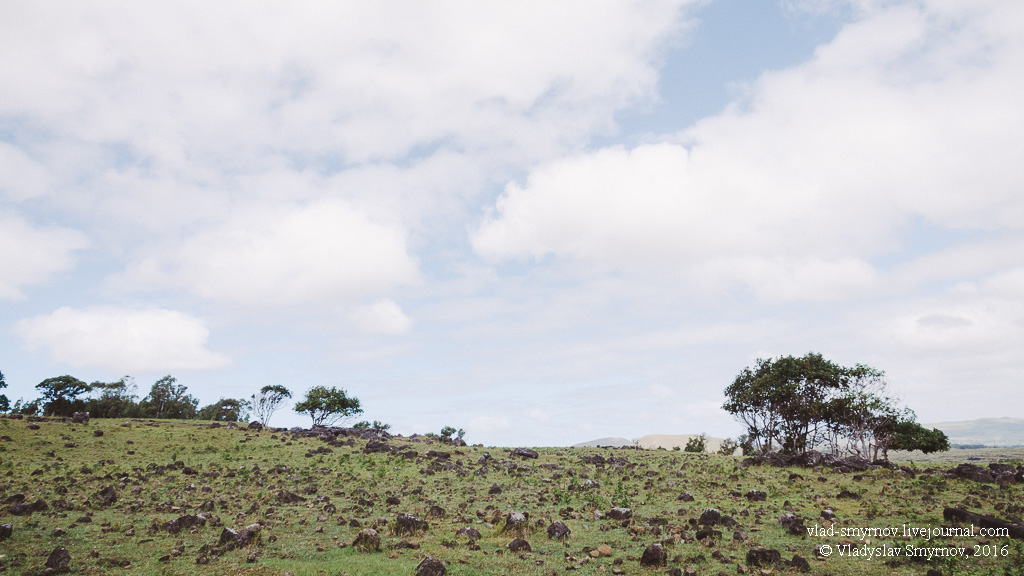 На склоне вулкана Теревака