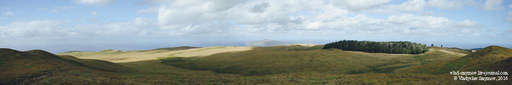 Северо-восток острова с вершины