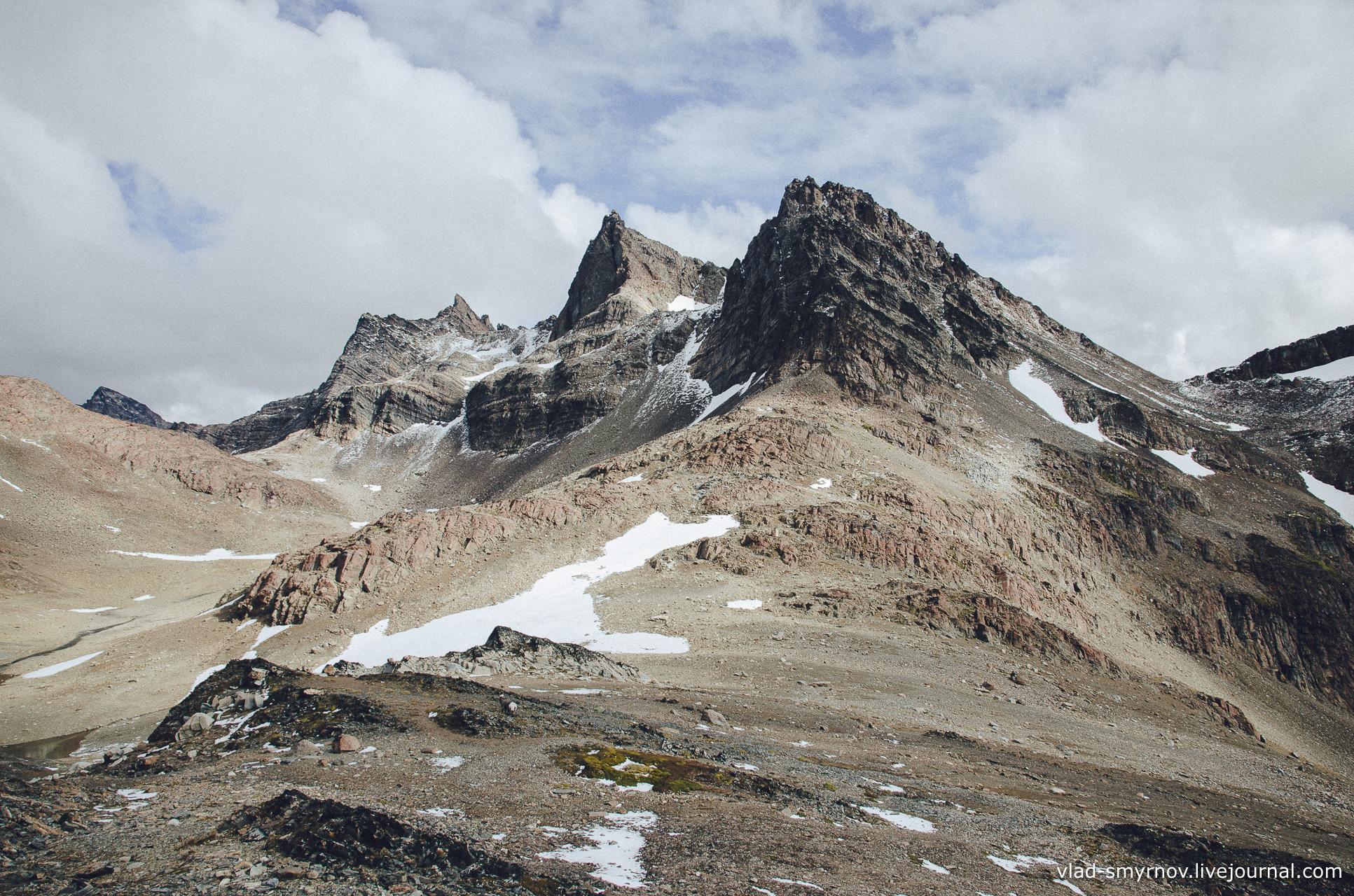 Вид с перевала Примеро