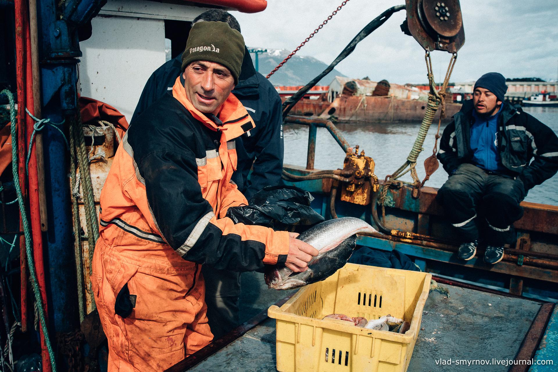 Рыбак. Пуэрто-Уильямс