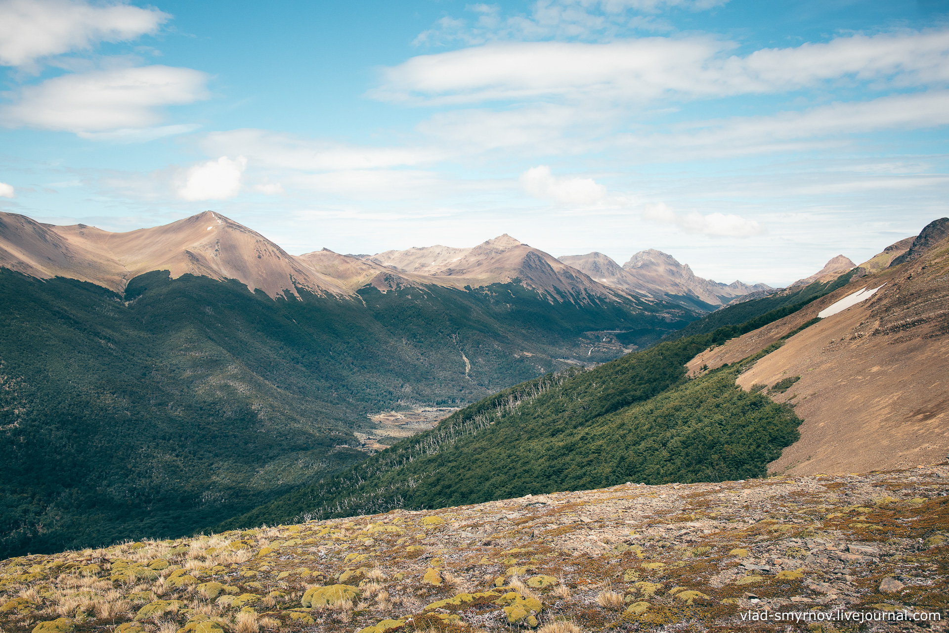 Вид с горы Бандера