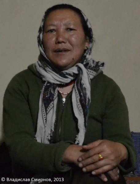 Портрет хозяйки homestay в Казе