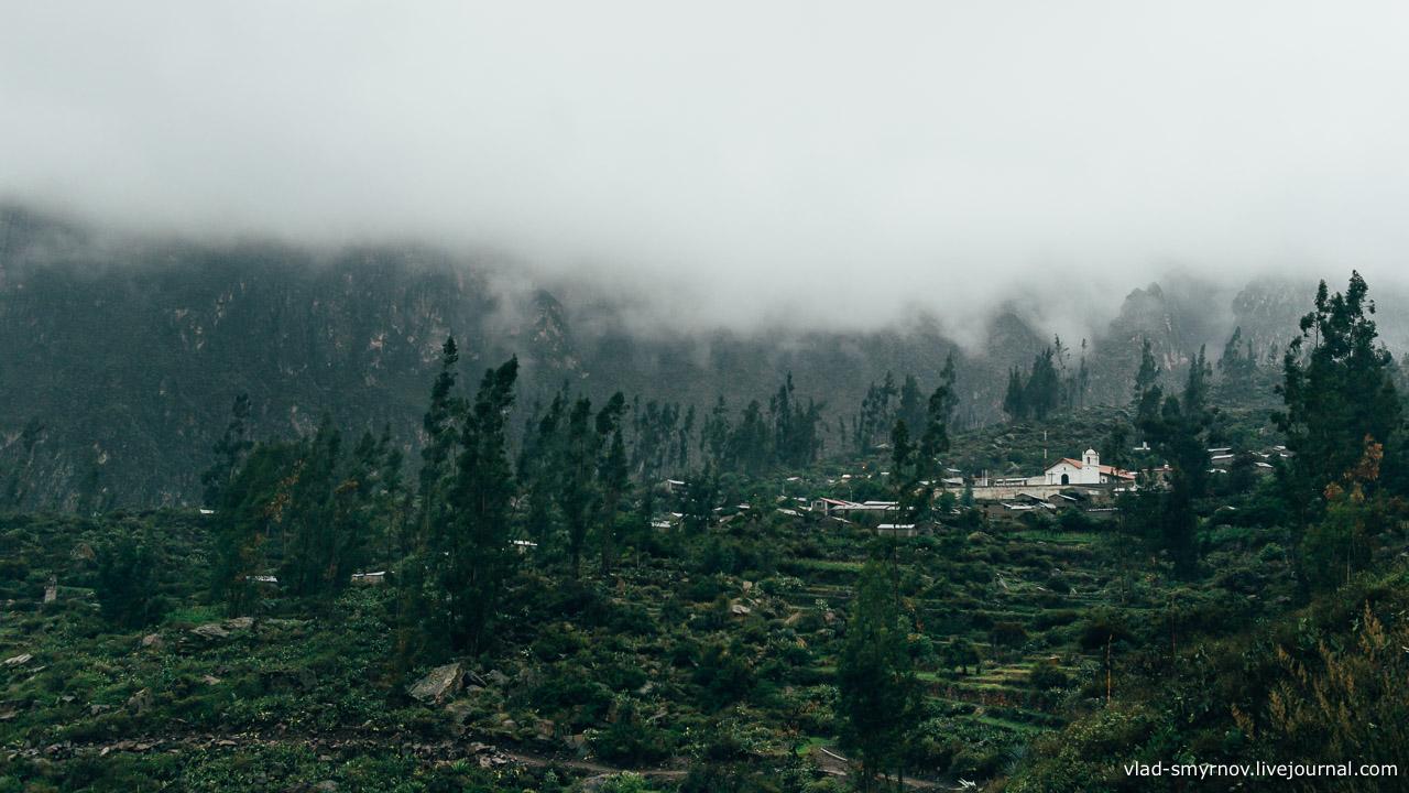 И всё же, даже в серости и под дождём Тапай выглядел внушительно, как древний город
