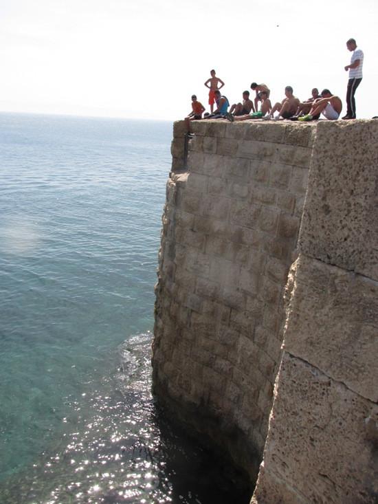 7 прыжки в воду