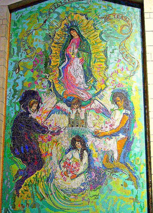 12 панно мексиканка