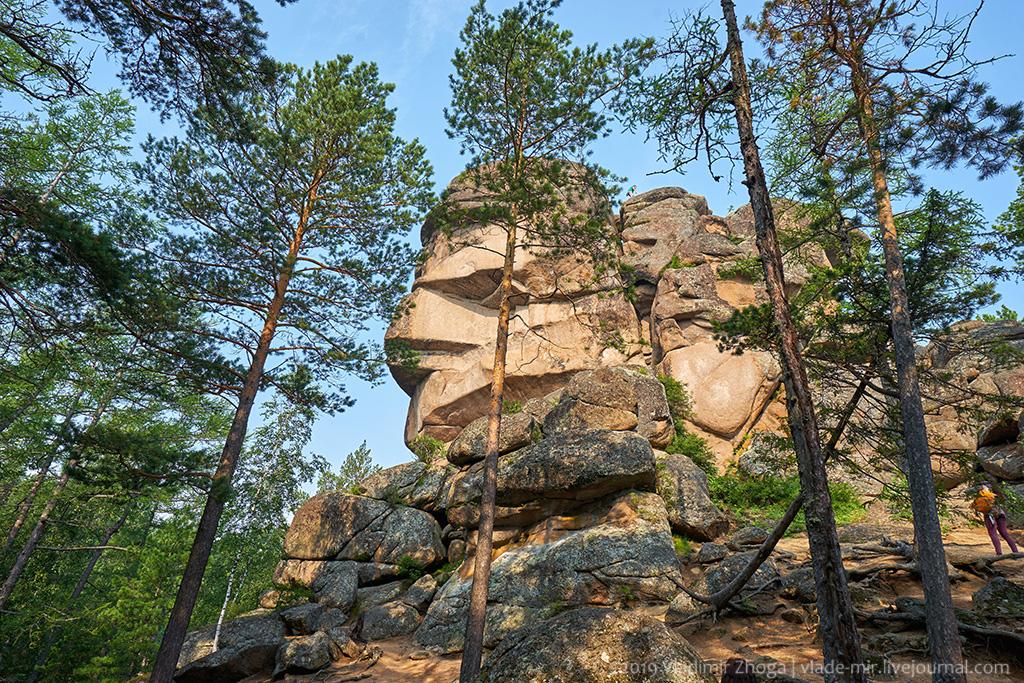 По скалистым тропам красноярских столбистов