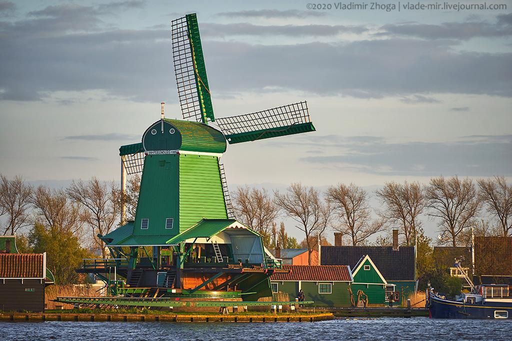 Зачем голландцам столько мельниц?