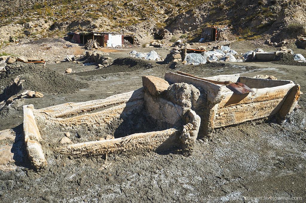 Как добывают соль в Дагестане