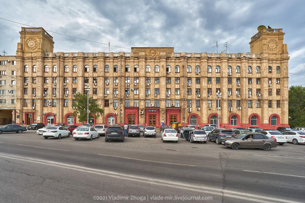 Здание центрального телеграфа Волгограда