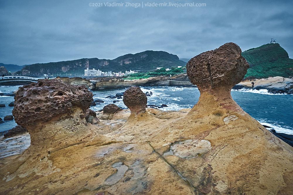 Причудливые камни парка Йелиу