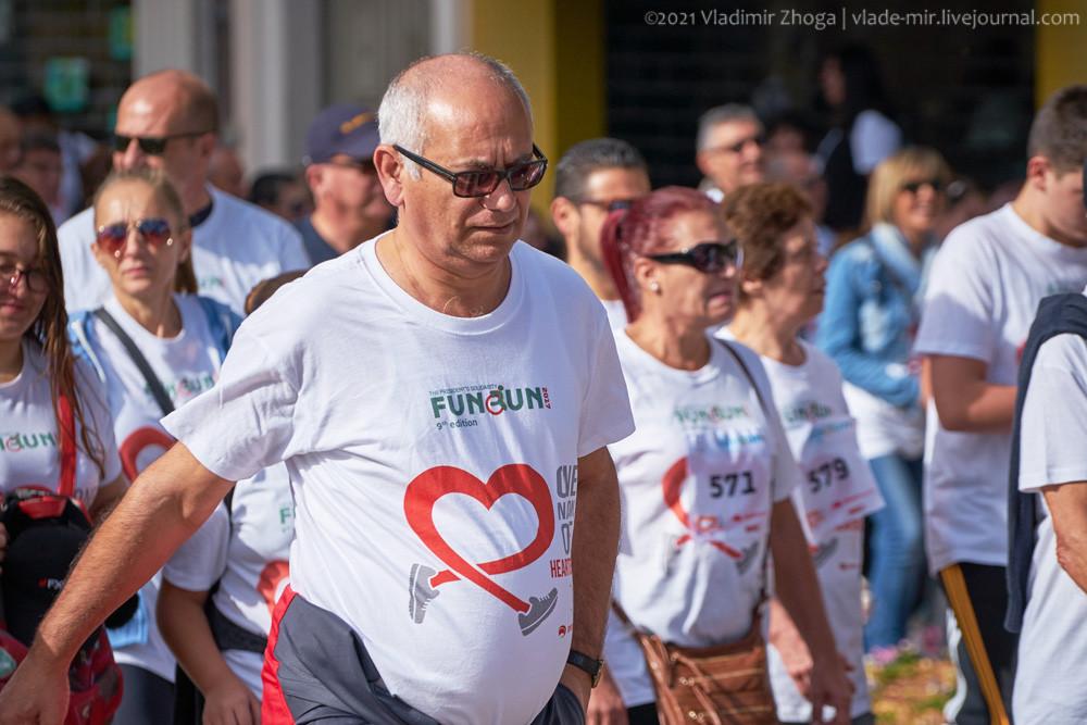 Мальтийцы на массовом президентском забеге Fun&run