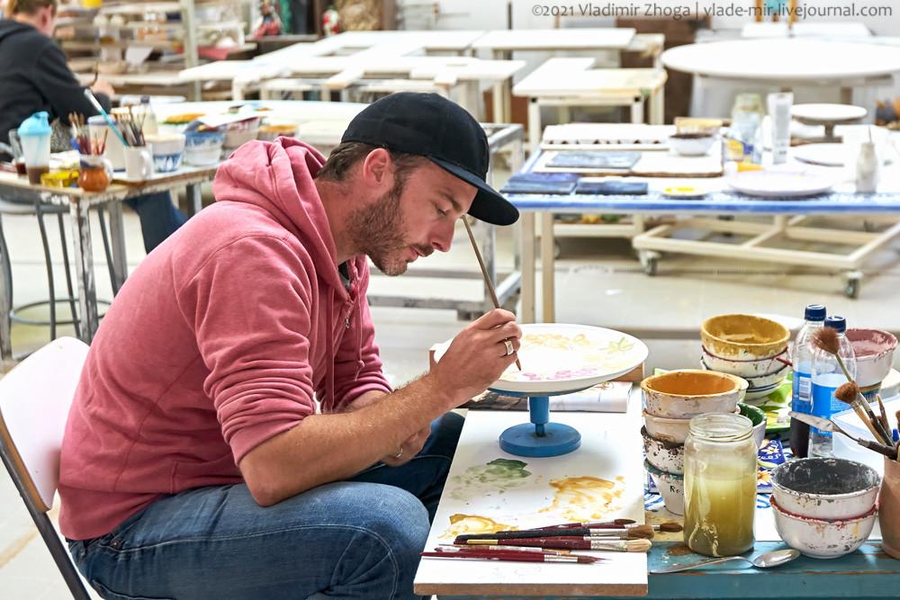 Мастер по керамической росписи