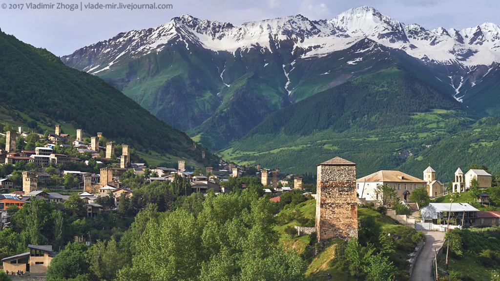 Загадочные башни Сванетии и Италии