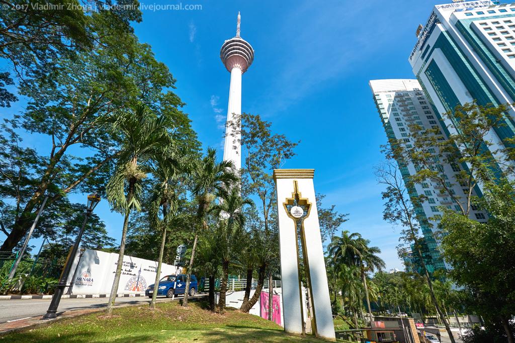 Менара KL - лучшая смотровая площадка в Куала Лумпуре