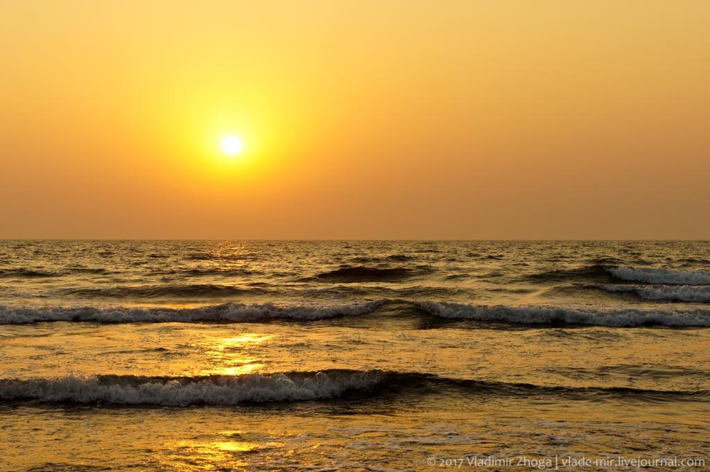Мандрем - лучший пляж северного Гоа