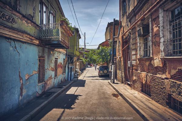 Авлабар - разрушающиеся трущобы вместо элитного района Тбилиси