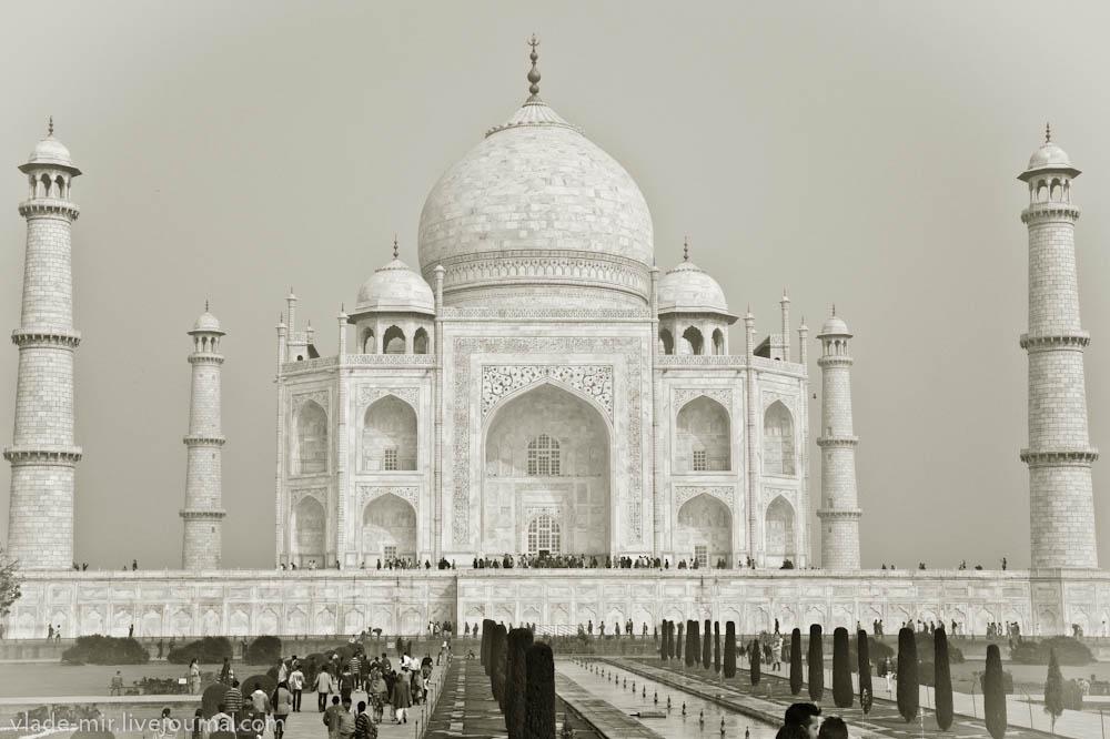 Taj Mahal ч / б