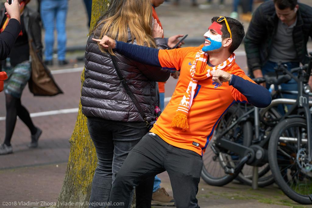 День Короля в стране тюльпанов. Часть 3 - оранжевые люди