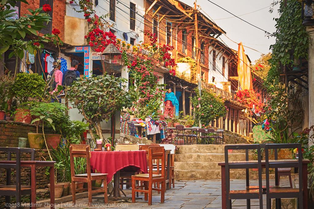 Бандипур - непальский город с европейским лицом