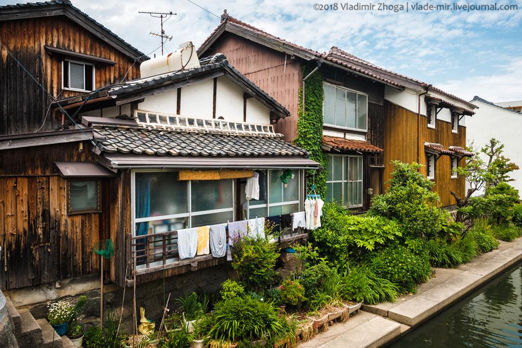 Один день в городе Йонаго (Япония)