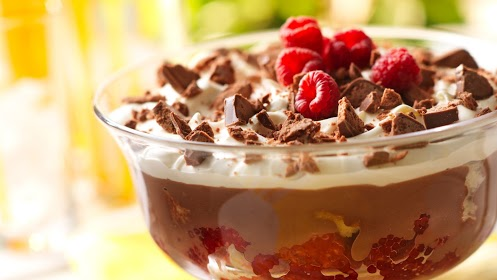 Chocolate & Raspberry Trifle