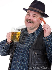 man-holding-beer-belly-sausage-23961585