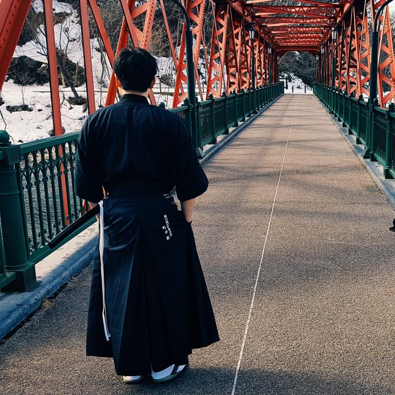 История о том как Еврей, Латыш и Голландец снимали самураев