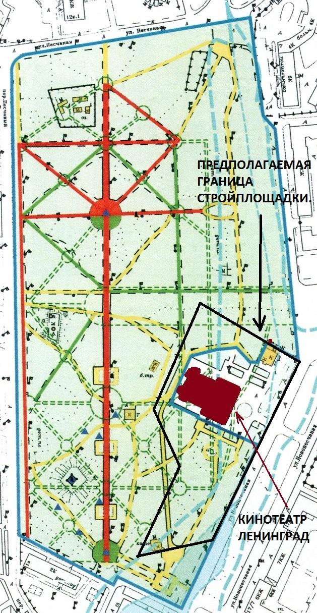 кладбища (Новопесчаная ул.