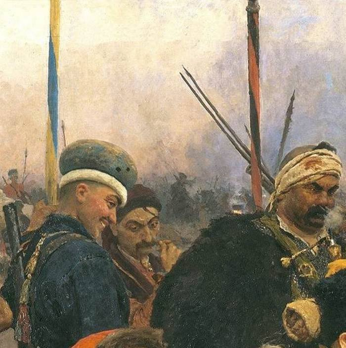Запорожцы (фрагмент)