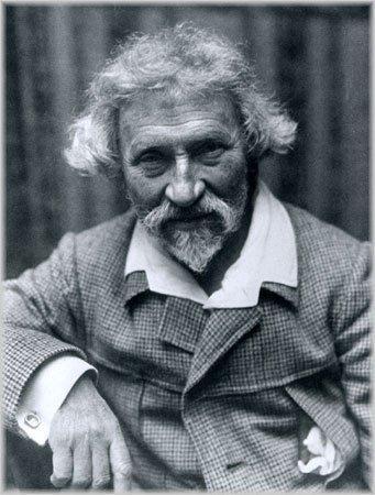 Илья Репин (фото начала 20-го века)