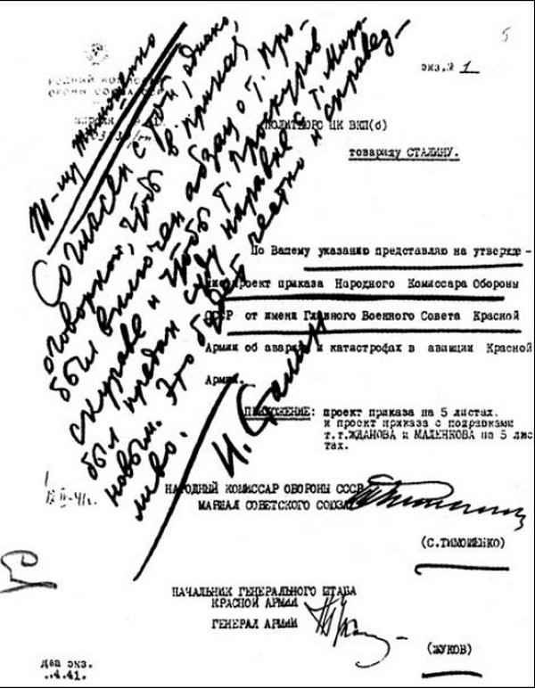 резолюция сталина