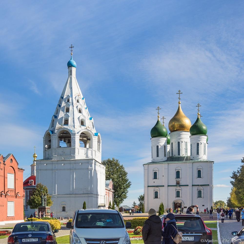 Соборная звонница Коломенского кремля