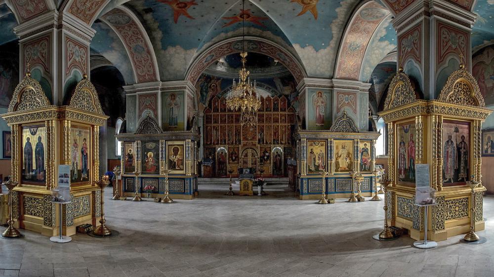 Тихвинская церковь. Внутренние пространства. SergeyBulkin