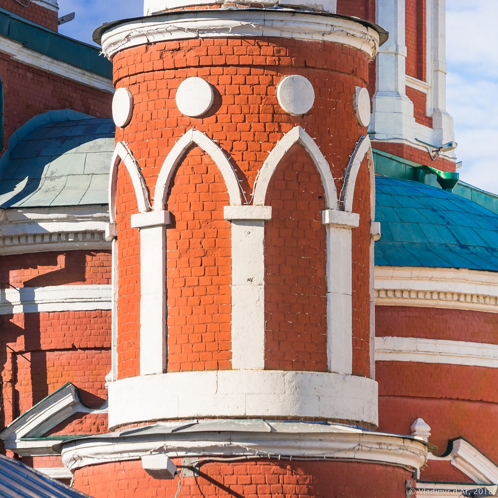 Башни Брусненского монастыря