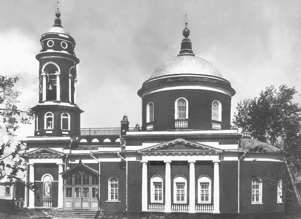 Церковь Воздвижения Креста Господня (Коломна). XIX век.