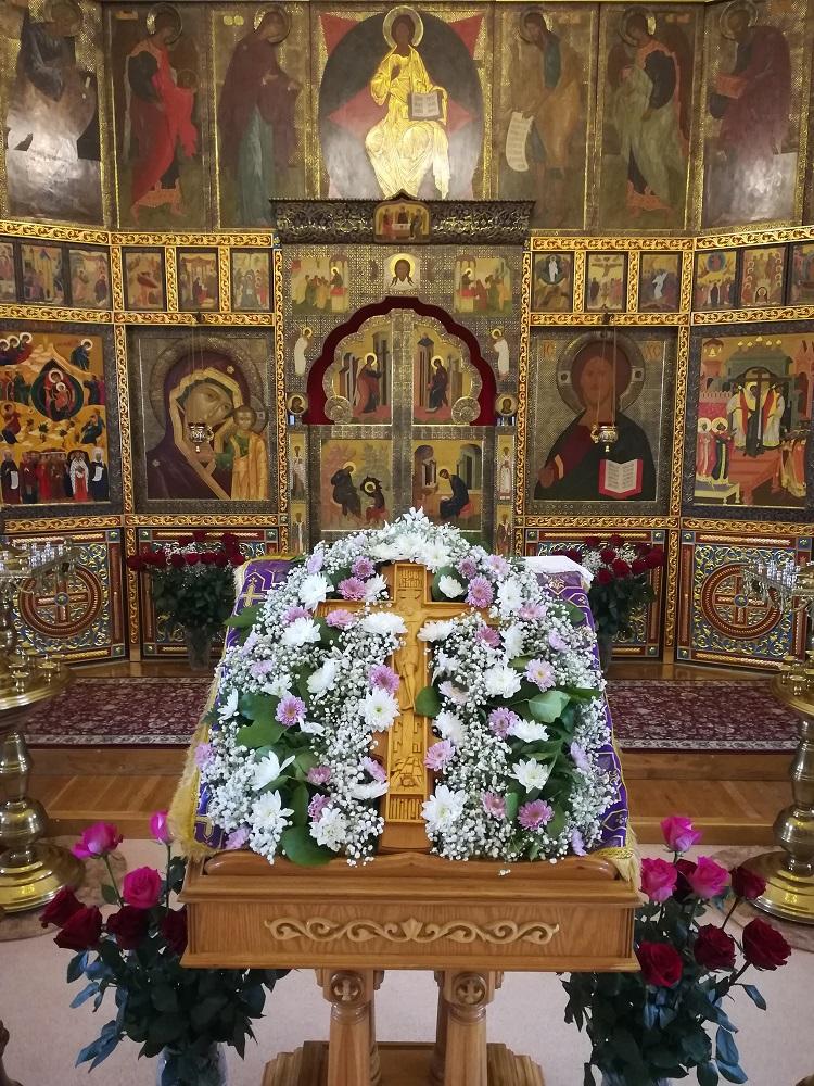 Крестовоздвиженский храм в Коломне