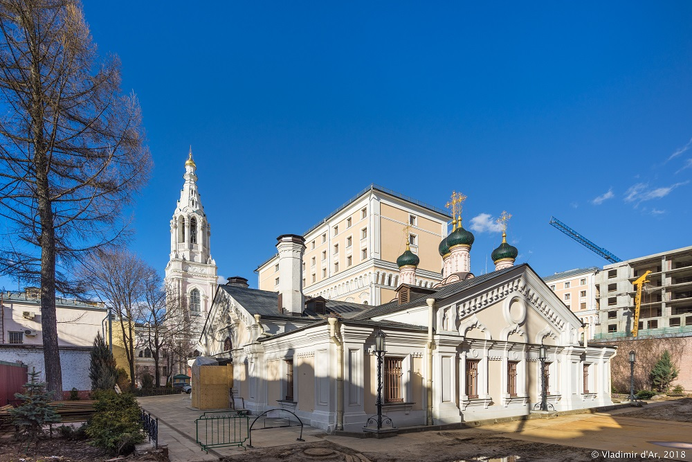 Храм Софии Премудрости Божией в Средних Садовниках
