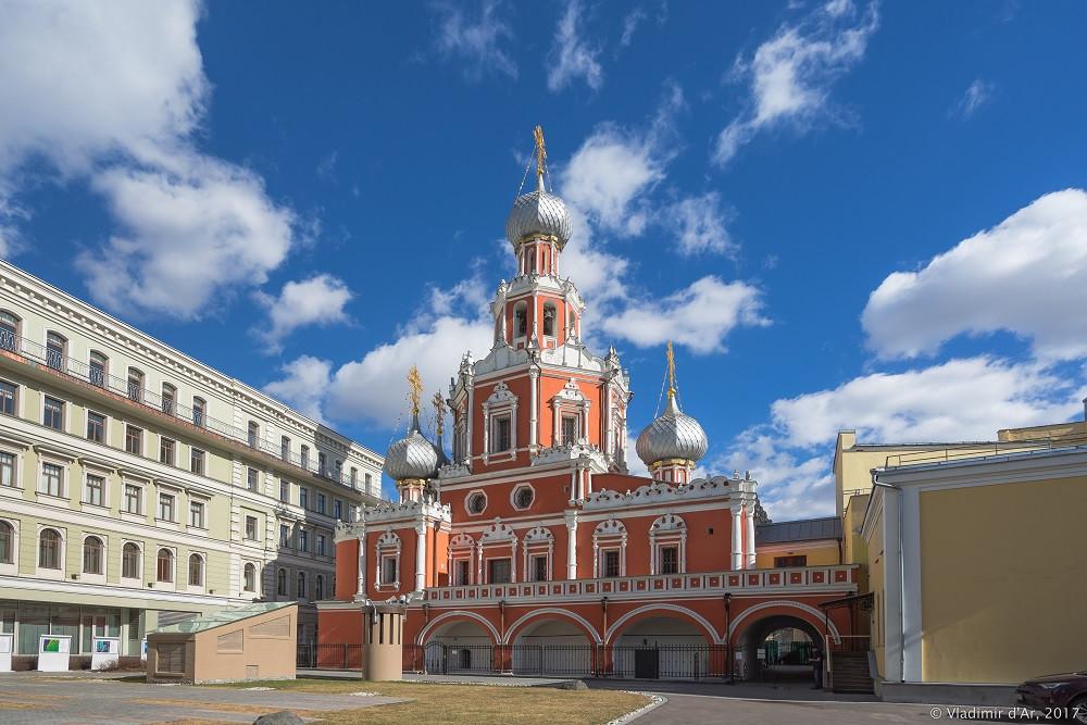Храм Знамения иконы Божией Матери на Шереметьевом дворе