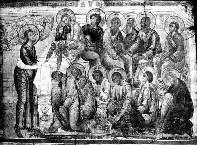 Фрагмент росписи алтаря