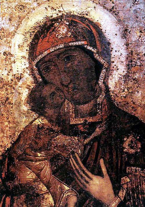 Федоровская икона Божьей матери. Кострома. Богоявленский монастырь.
