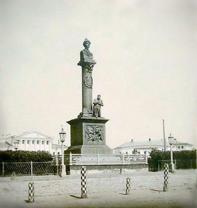 Памятник Ивану Сусанину. Открытие в 1851 году.