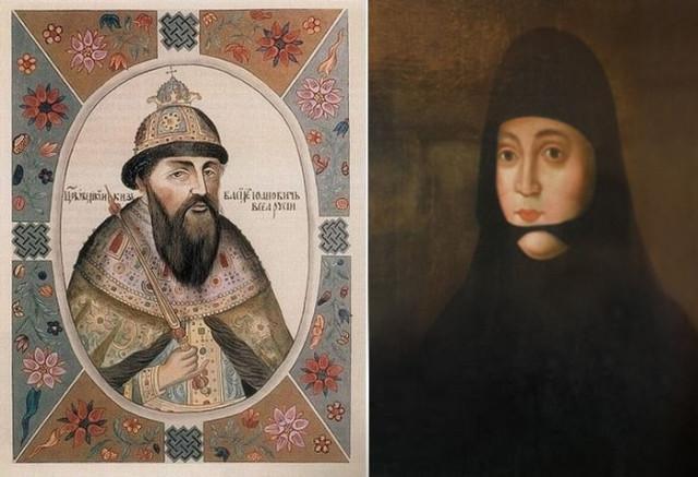 Василий III и Соломония Сабурова