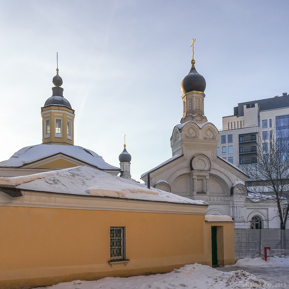 Храм Святителя Николая Мирликийского в Дербеневе