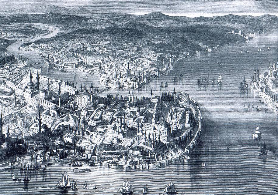 Константинополь во времена Османской империи