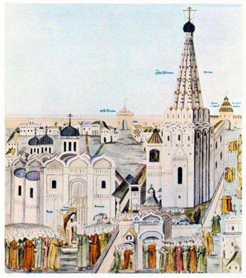 002 - Троицкое подворье в Кремле - церковь Сергия Радонежского