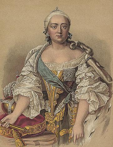 006 - Императрица Елизавета Петровна