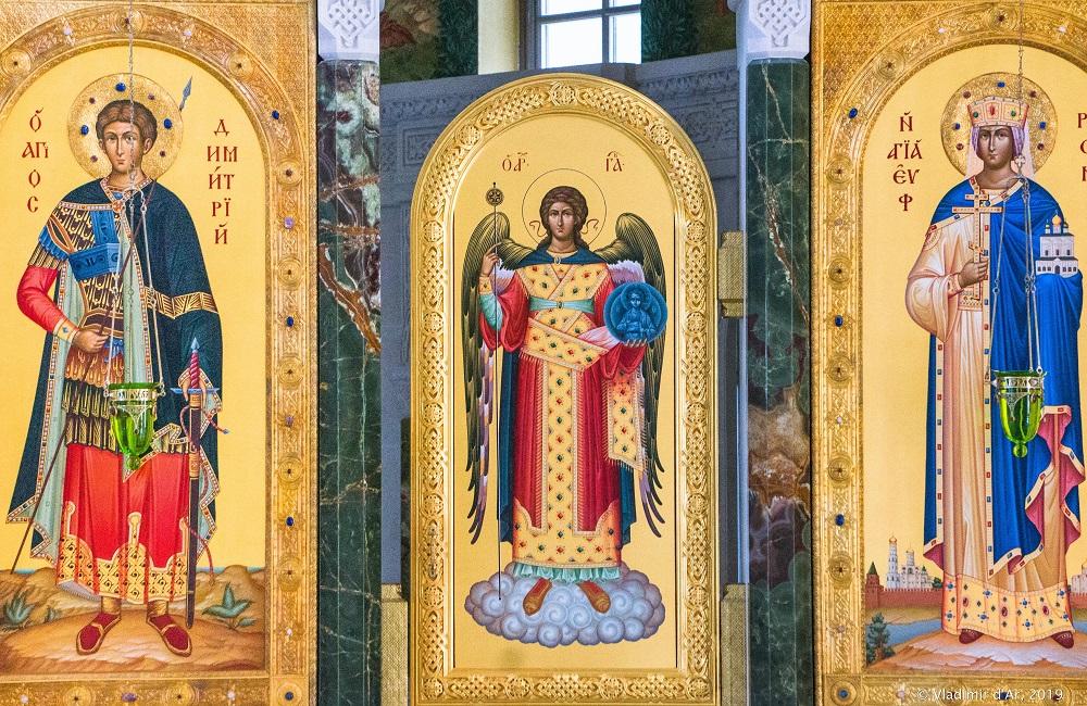 Церковь Новомучеников и Исповедников Российских. Иконостас.