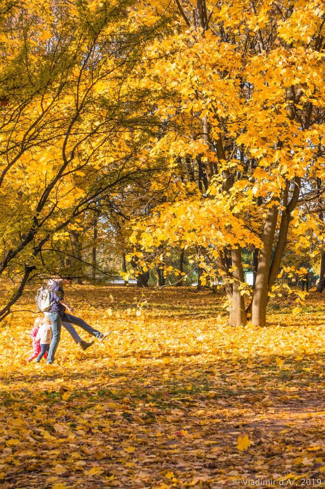 Коломенское. Золотая Осень.