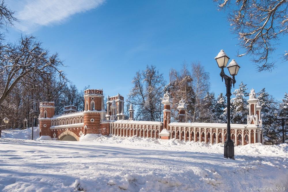 Царицыно - зима 2019