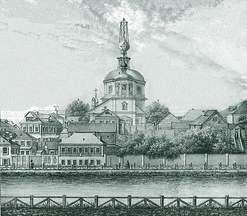 011 - Вид церкви Троицкой что в Троицкой слободе